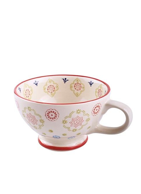 Dekorazon Medina El Boyama Kahve Fincanı Renkli